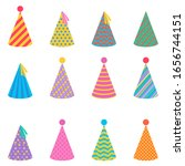 collection of festive paper... | Shutterstock .eps vector #1656744151
