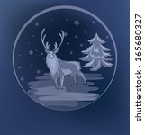 christmas background with...   Shutterstock .eps vector #165680327