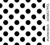 seamless pattern. big dots... | Shutterstock .eps vector #1656817951