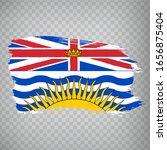 flag of british columbia brush...