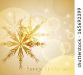 festive christmas background  ... | Shutterstock .eps vector #165692399
