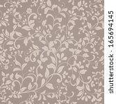seamless pattern in victorian... | Shutterstock .eps vector #165694145