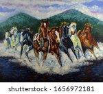 Art Painting Fine Art Oil Color ...