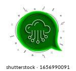 cloud storage service line icon.... | Shutterstock .eps vector #1656990091