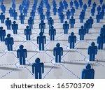 network concept | Shutterstock . vector #165703709