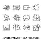 set of business icons  such as...   Shutterstock . vector #1657066081