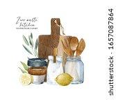 Zero Waste Watercolor Kitchen...