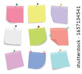multicolored  notes ...   Shutterstock .eps vector #1657134541