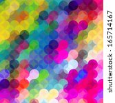 colorful dots abstract vector... | Shutterstock .eps vector #165714167