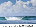 Beautiful Blue Turquoise Wave...