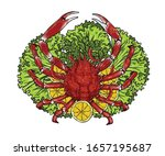 Spider Crab With Lemon And...