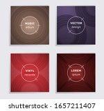 gradient vinyl records music... | Shutterstock .eps vector #1657211407