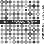 100 Beautiful Abstract Flower...