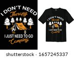 i don't need therapy i just... | Shutterstock .eps vector #1657245337