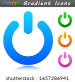 vector start sign symbol icon
