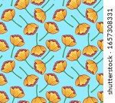 yellow flowers digital... | Shutterstock . vector #1657308331