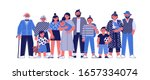 a multi generational family... | Shutterstock .eps vector #1657334074