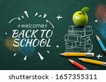 welcome back to school web... | Shutterstock .eps vector #1657355311