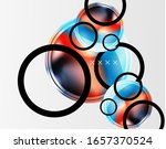 abstract background   glossy... | Shutterstock .eps vector #1657370524