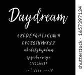 best alphabet daydream brush...   Shutterstock .eps vector #1657397134