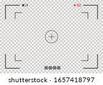 focusing the camera screen.... | Shutterstock .eps vector #1657418797
