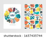 vector abstract creative... | Shutterstock .eps vector #1657435744