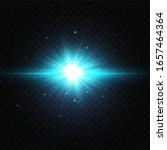 vector illustration of a blue... | Shutterstock .eps vector #1657464364