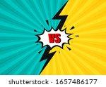 vs comic. battle vs match... | Shutterstock .eps vector #1657486177