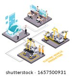 modern automated solutions for... | Shutterstock .eps vector #1657500931