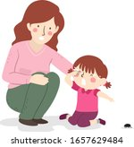 illustration of a mother and...   Shutterstock .eps vector #1657629484
