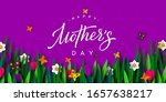 happy mothers day poster. 3d...   Shutterstock .eps vector #1657638217