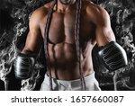 african american boxer...   Shutterstock . vector #1657660087