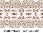 pink tie dye texture. beige... | Shutterstock . vector #1657680304