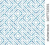 seamless geometric patterns.... | Shutterstock .eps vector #1657722031