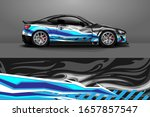 racing car wrap decal... | Shutterstock .eps vector #1657857547