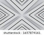white triangle spread beautiful ... | Shutterstock .eps vector #1657874161