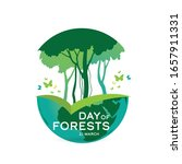 international day of forests... | Shutterstock .eps vector #1657911331