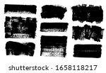 brush strokes. vector... | Shutterstock .eps vector #1658118217