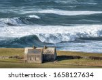 Rough Sea With Large Waves On...