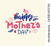 spring mother's day holiday... | Shutterstock .eps vector #1658145154