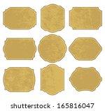 vintage labels. | Shutterstock . vector #165816047