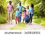 multi generation african... | Shutterstock . vector #165818501