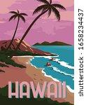 Hawaii Vector Illustration...