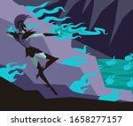 greek mythology hades pluto god   Shutterstock .eps vector #1658277157
