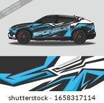 car wrap decal design vector ...   Shutterstock .eps vector #1658317114