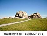 Big Rock Erratic. This Massive...