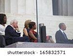 u.s. president barack obama ... | Shutterstock . vector #165832571