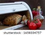 Fresh Baked Bread With Seeds ...