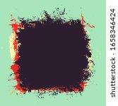 grunge background texture... | Shutterstock . vector #1658346424
