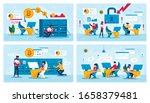 cryptocurrency trading business ...   Shutterstock .eps vector #1658379481